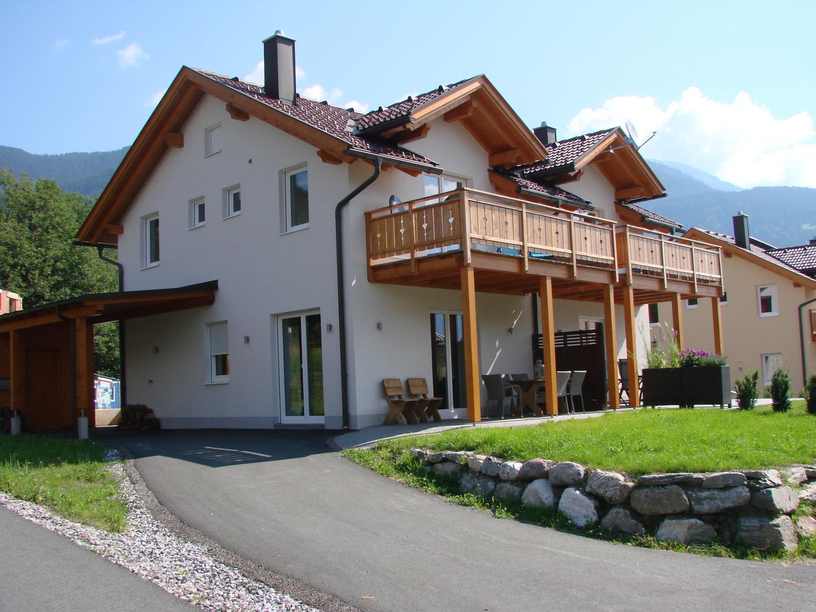 Vakantiehuis Haus Fingerhut Kotschach -Mauthen